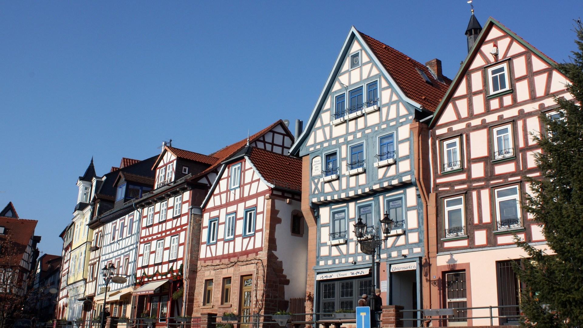 Gelnhausen im Kinzigtal